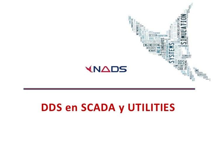 DDS en SCADA y UTILITIES