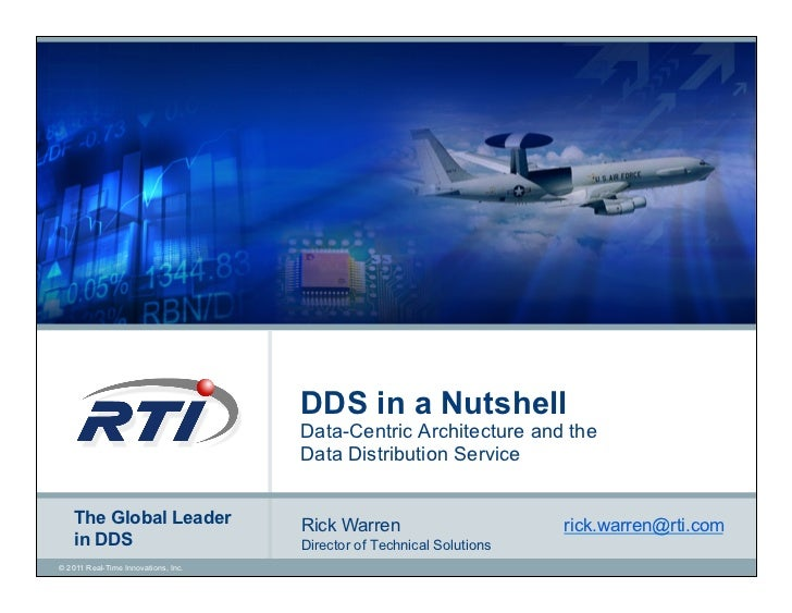 DDS in a Nutshell                                     Data-Centric Architecture and the                                   ...