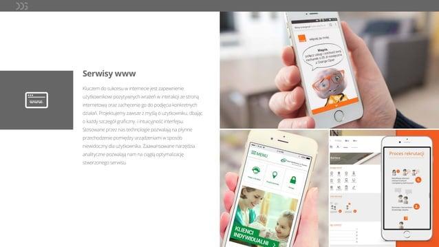 Serwisy www Kluczem do sukcesu w internecie jest zapewnienie użytkownikowi pozytywnych wrażeń w interakcji ze stroną inter...
