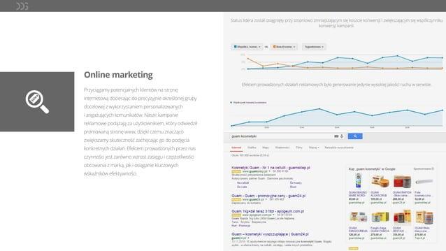 Online marketing Przyciągamy potencjalnych klientów na stronę internetową docierając do precyzyjnie określonej grupy docel...