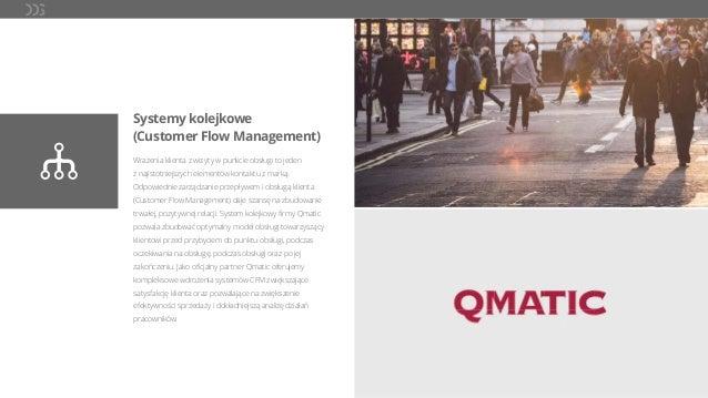 Systemy kolejkowe (Customer Flow Management) Wrażenia klienta z wizyty w punkcie obsługi to jeden z najistotniejszych elem...