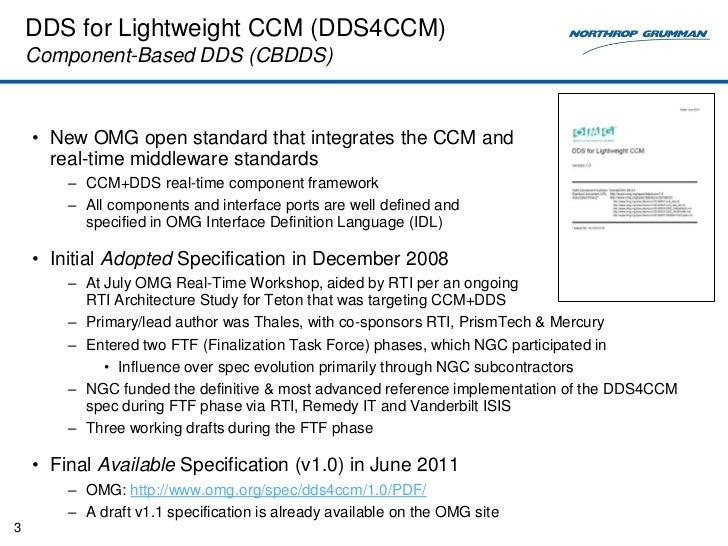 DDS vs DDS4CCM Slide 3