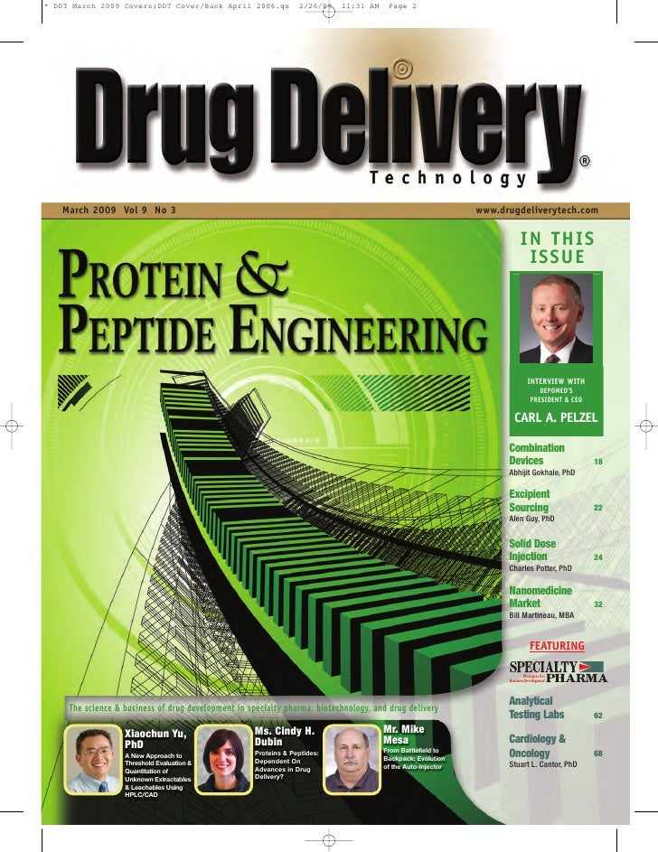 March 2009 Vol 9 No 3                                                                                    www.drugdeliveryt...