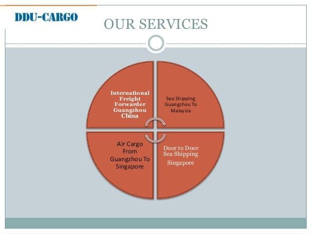 Air Cargo from Guangzhou to Singapore