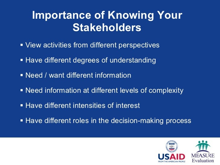 stakeholders philosophy and decision maker Principles of management final ch1-12  business philosophy  _____ is a situation in which a decision maker has incomplete information about outcomes and does .