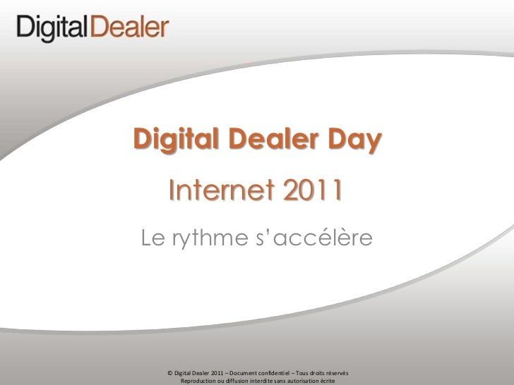 Digital Dealer Day - Internet 2011