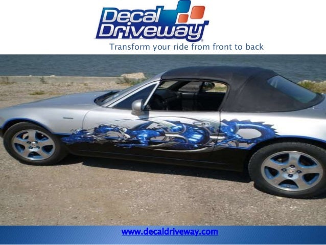 Vehicle graphics custom stickers more transform your ride from front to back www decaldriveway com