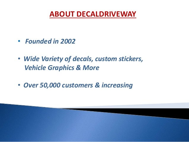 Car Decals Vehicle Graphics Custom Stickers More - Custom decal graphics on vehiclescar decals on decaldrivewaycom car decals custom decals car