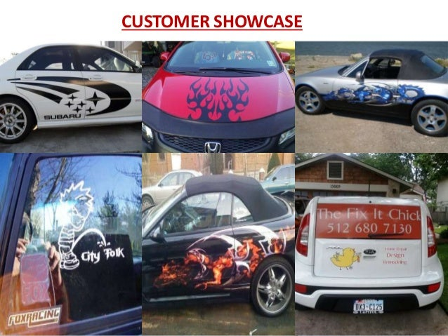 Car decals vehicle graphics custom stickers more