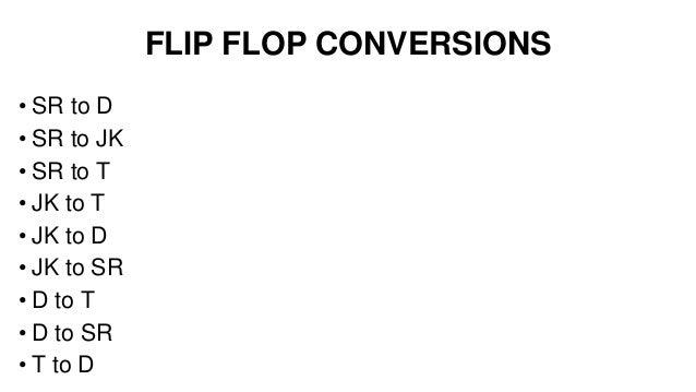 flip flop coverison