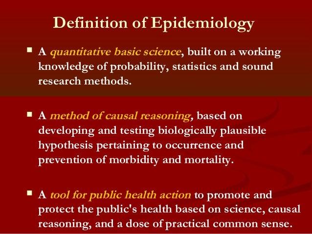 WHO | Epidemiology
