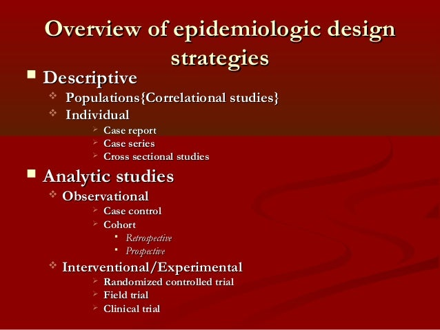 Descriptive epidemiology | definition of descriptive ...