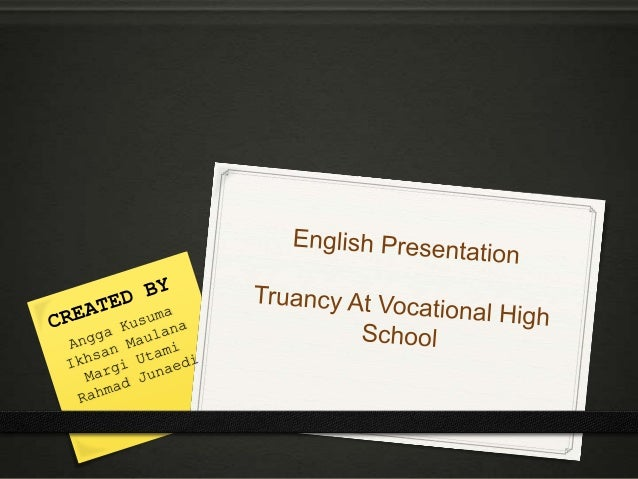 school truancy School truancy, particularly in primary and secondary schools, represents a serious issue deserving attention in communities across the nation.