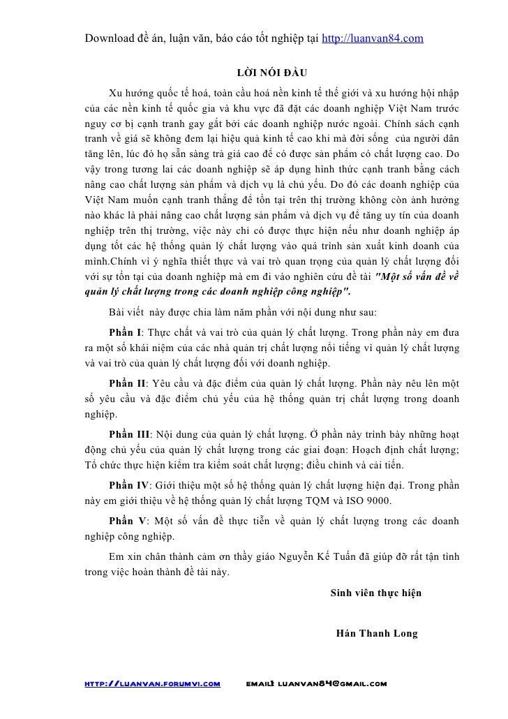 Download đề án, luận văn, báo cáo tốt nghiệp tại http://luanvan84.com                                 LỜI NÓI ĐẦU      Xu ...