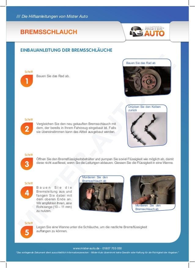 Bremsschlauch Slide 2