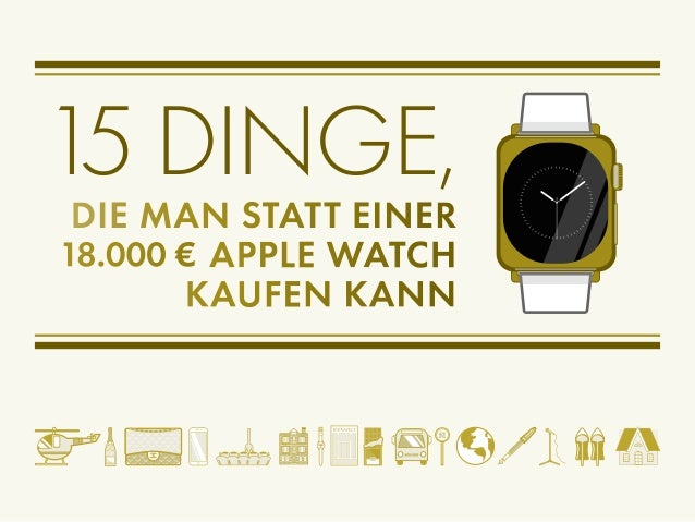 15 dinge die man statt einer apple watch kaufen kann de. Black Bedroom Furniture Sets. Home Design Ideas