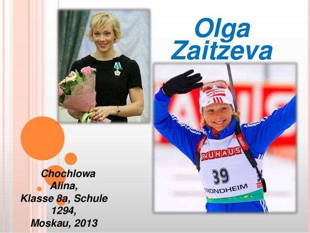 Olga Zaitzeva  Chochlowa Alina, Klasse 8a, Schule 1294, Moskau, 2013
