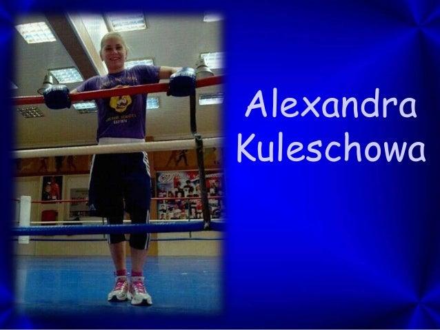 Alexandra Kuleschowa