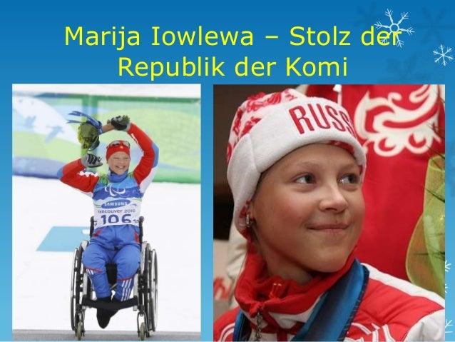 Marija Iowlewa – Stolz der Republik der Komi