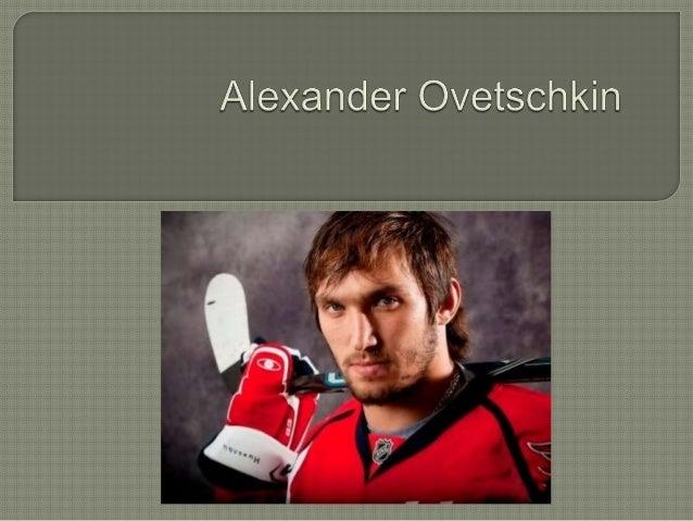   Alexander Ovetschkin (am 17. September 1985 geboren)-der russische beruehmte Eishockeyspieler, spielt in amerikanischen...