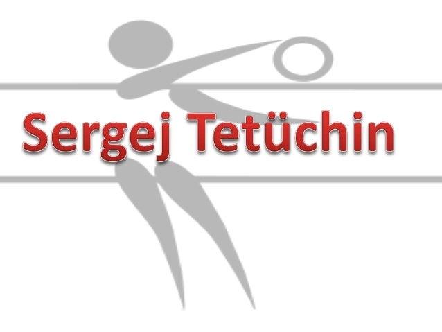 Sergei Tetyuhin - Gewinner der Silbermedaille bei den Olympischen Spielen in Sydney die Bronzemedaille der Spiele in Athen...