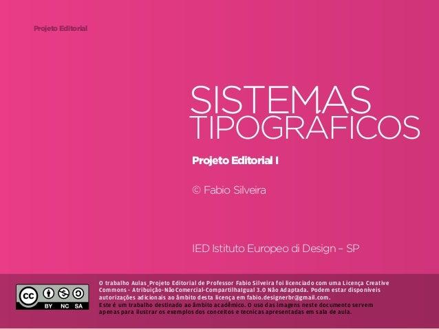 Projeto Editorial                                                           Sistemas                                      ...