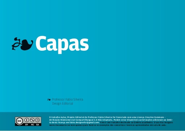4 Capas   4 Professor Fabio Silveira    Design Editorial    O trabalho Aulas_Projeto Editorial de Professor Fabio Silveir...