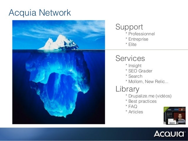 Acquia Network                 Support                   * Professionnel                   * Entreprise                   ...