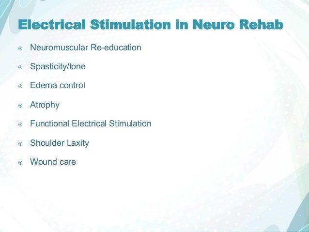 Electrical Stimulation Units 0425