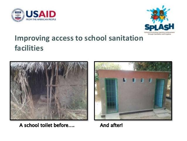 Female teachers need safe clean toilets too