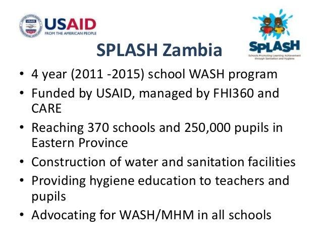 • 4 districts • 370 primary schools