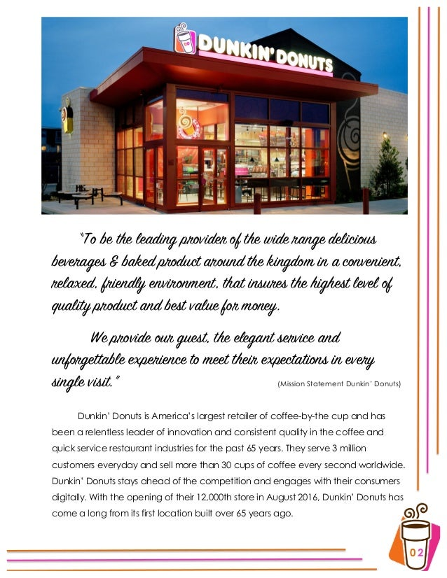 Dunkin donuts longest message to mom essay