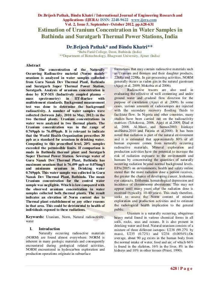 Dr.Brijesh Pathak, Bindu Khatri / International Journal of Engineering Research and                      Applications (IJE...