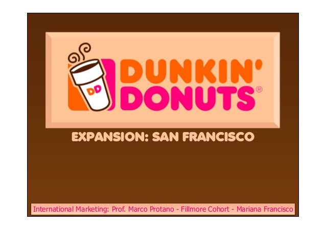 Dunkin Donuts Competitive Analysis