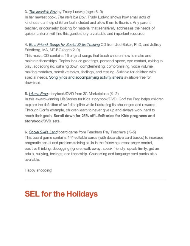 Last-Minute SEL Gifts _ Tips for Happy Holidays _ What Makes a Good F…