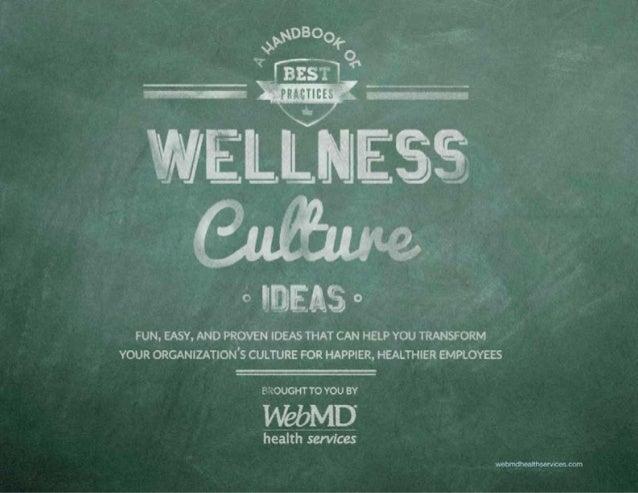 Wellness Culture Ebook