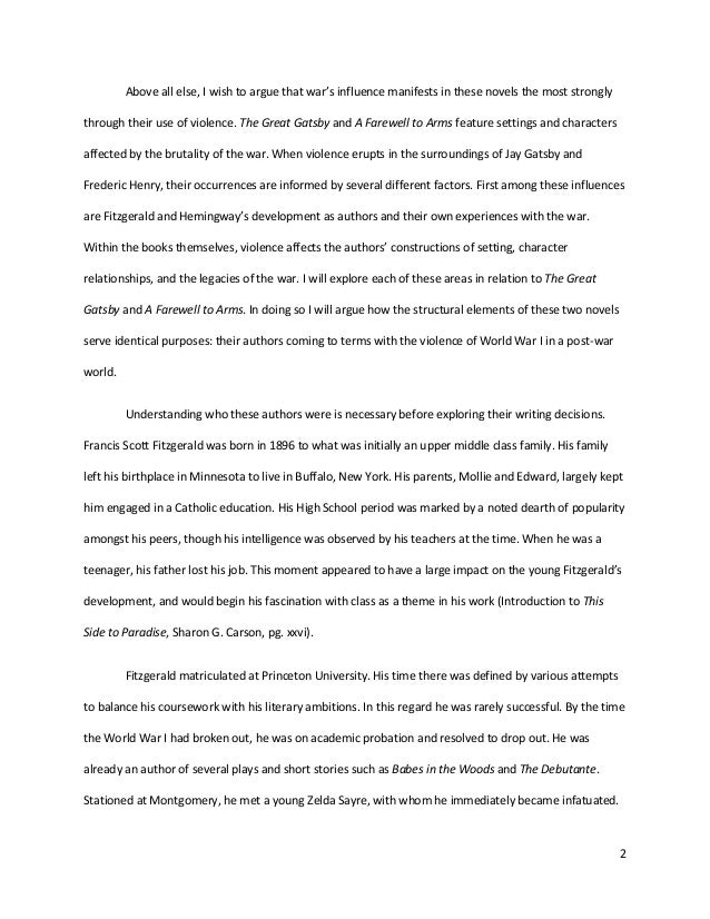 The Great Gatsby Ending Essay Sentences - image 10