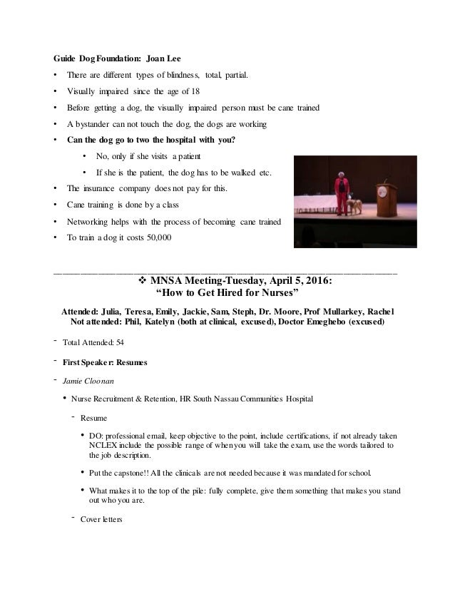 MNSA END OF SEMESTER REPORT- SPRING 2016