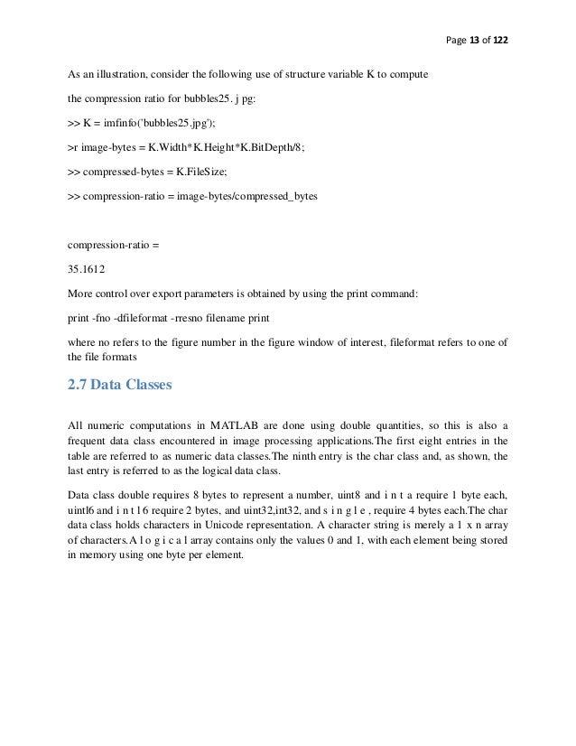 Summer Internship Final Report