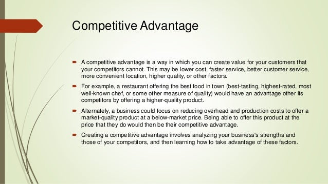 maintaining competitive advantage in the e reader Electronic copy available at:    for  businesses to develop and maintain competitive advantages, to utilize these   barney, j b (1997), gaining and sustaining competitive advantage reading.
