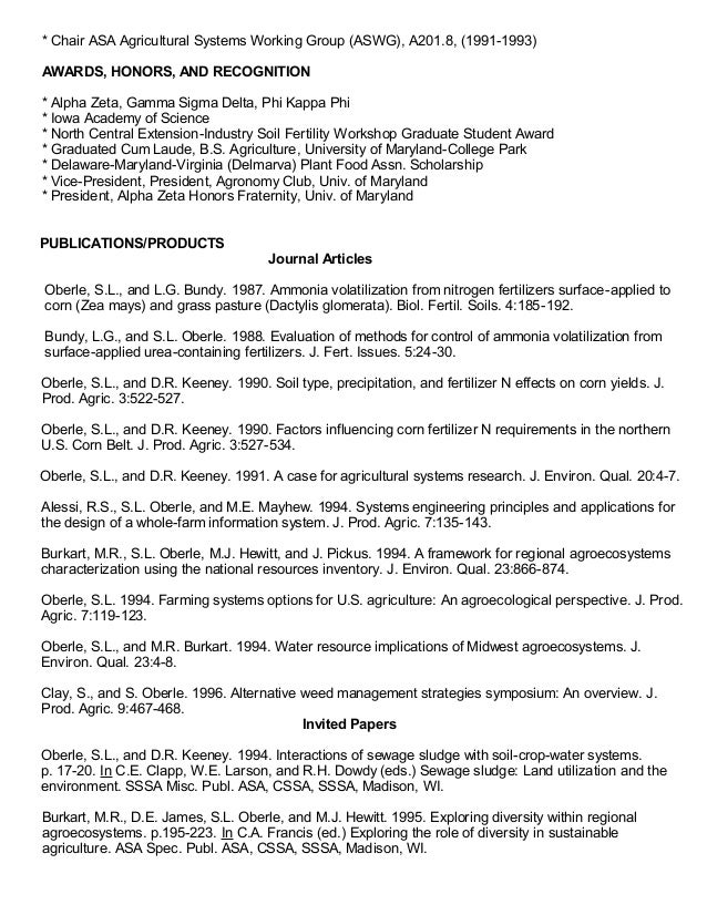 Oberle resume (October 2015)
