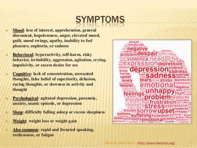 pediatric bipolar disorder symptoms resembling other Bipolar disorder in adults is defined by intermittent episodes of mania — elevated mood, rapid speech, high energy, grandiosity and overconfidence — that can last from a week to several months but mania in children looks different from the symptoms we associate with adult mania in children, instead of euphoria, mania.