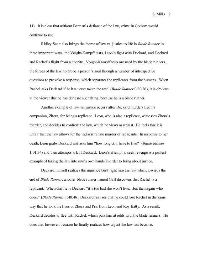 scott s dark knight essay