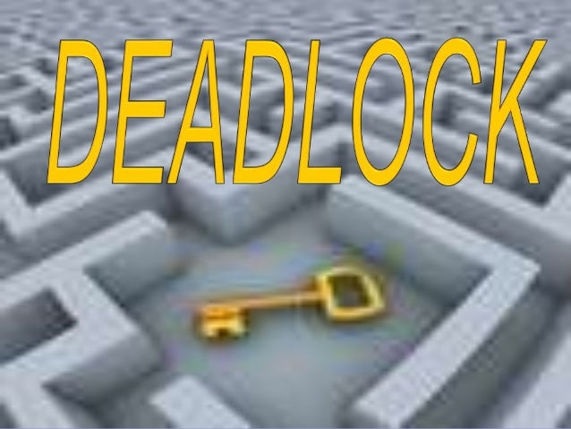 DEADLOCKA process request the resources,the resources are not available atthat time, so the process enterinto the waiting ...