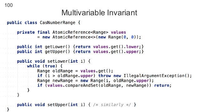 100 Multivariable Invariant