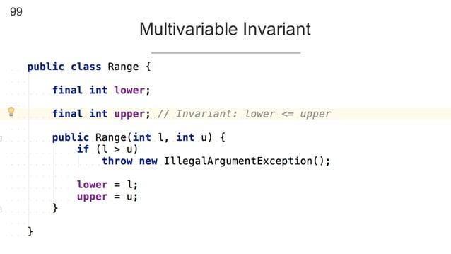 99 Multivariable Invariant
