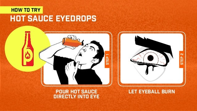 Pour Hot Sauce Directly Into