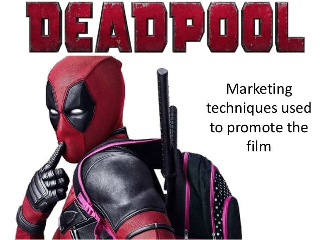 Marketing techniques used to promote the film