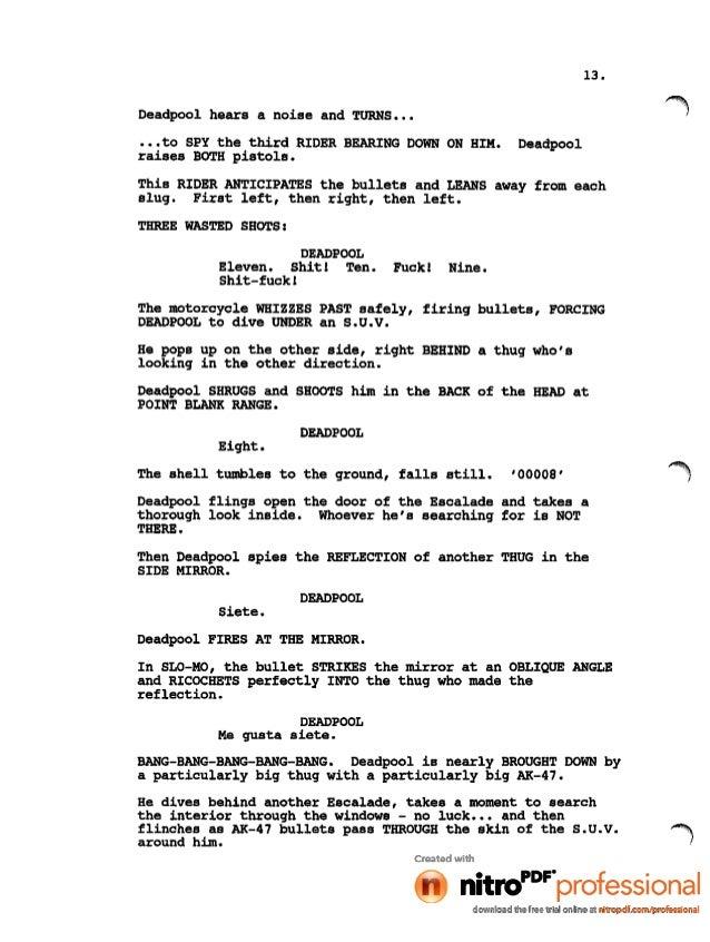 Naked Gun Script 117