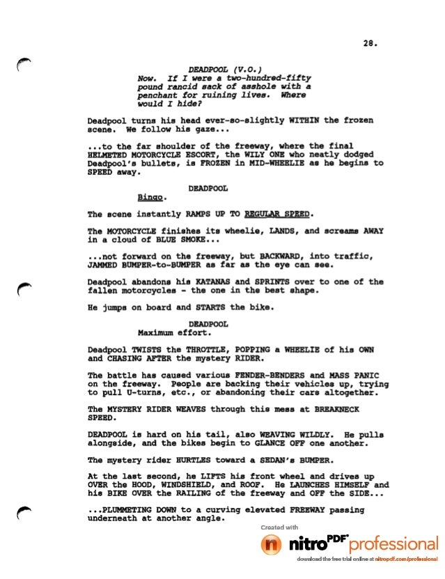 There Will Be Blood Screenplay Pdf